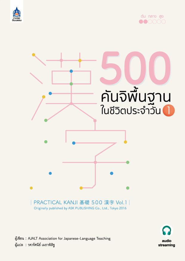500 คันจิพื้นฐานในชีวิตประจำวัน 1